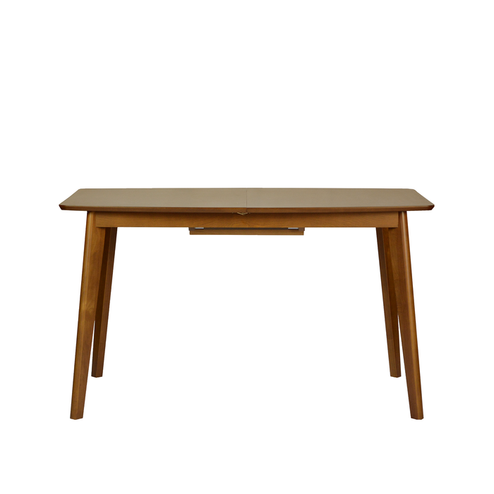 Melanie 1.3M Extendable Dining Table, Rubber Wood - Novena Furniture Singapore - Dining Chairs
