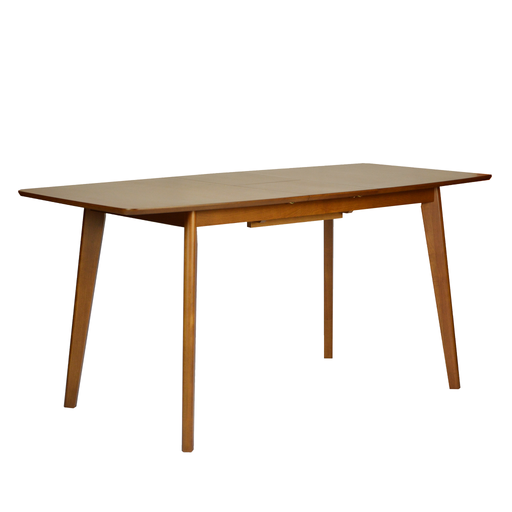 Melanie 1.3M Extendable Dining Table, Rubber Wood