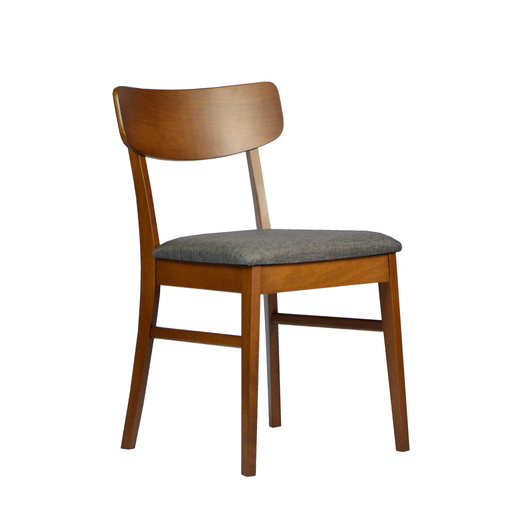 Melanie Dining Chair, Rubber Wood - Novena Furniture Singapore