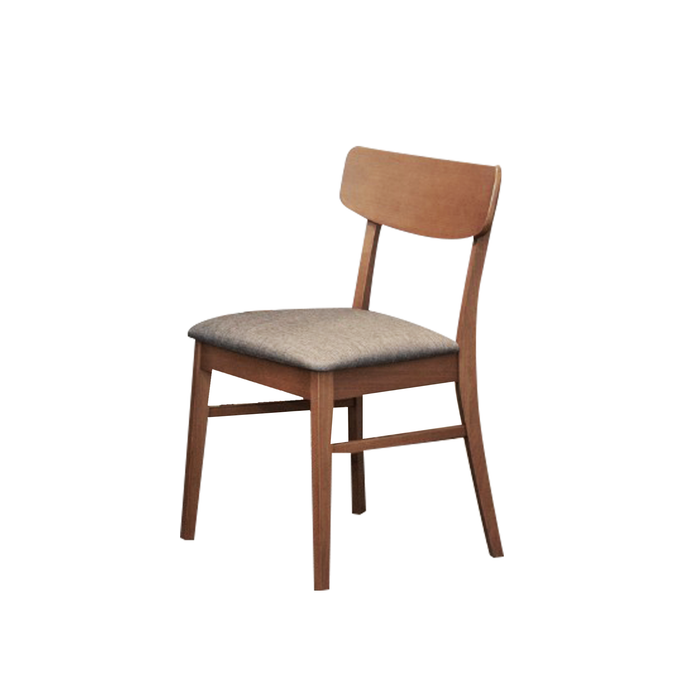 Melanie Dining Chair, Rubber Wood - Novena Furniture Singapore - Dining Chairs