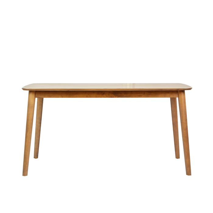 Moray 1.8M Dining Table, Rubber Wood - Novena Furniture Singapore - Dining Sets