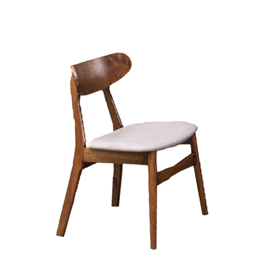 Moray Dining Chair, Rubber Wood