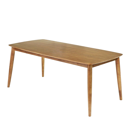 Moray 2.1M Dining Table, Rubber Wood - Novena Furniture Singapore