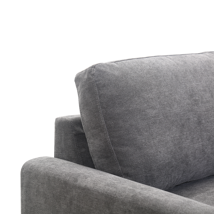 Mori 1 Seater Sofa, Fabric - Novena Furniture Singapore