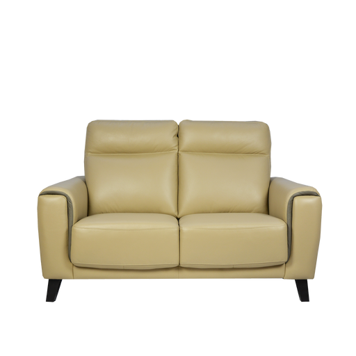 Muro 2 Seater Sofa, Full Leather - Novena Furniture Singapore