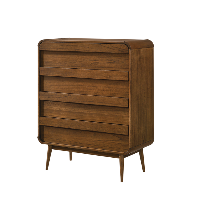Natalie Chest of Drawer, Rubber Wood - Novena Furniture Singapore