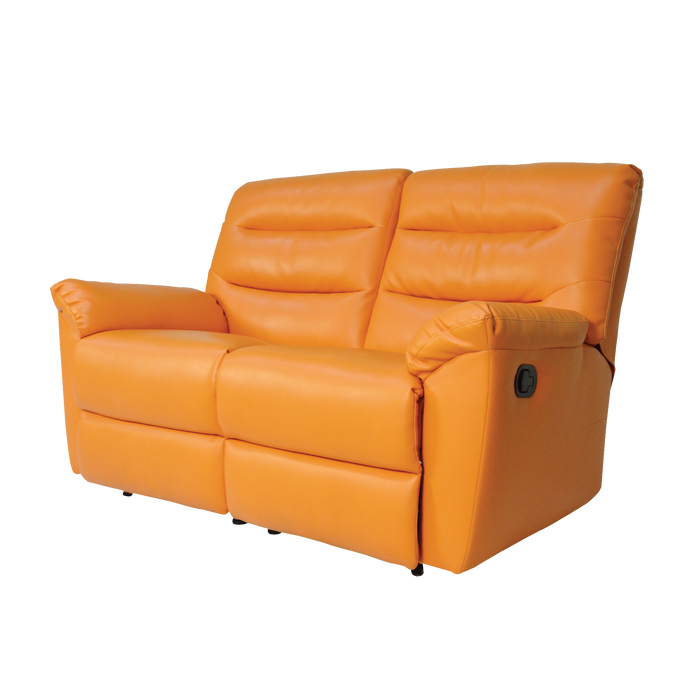 Norwood 2 Seater Recliner Sofa, Simulated Leather