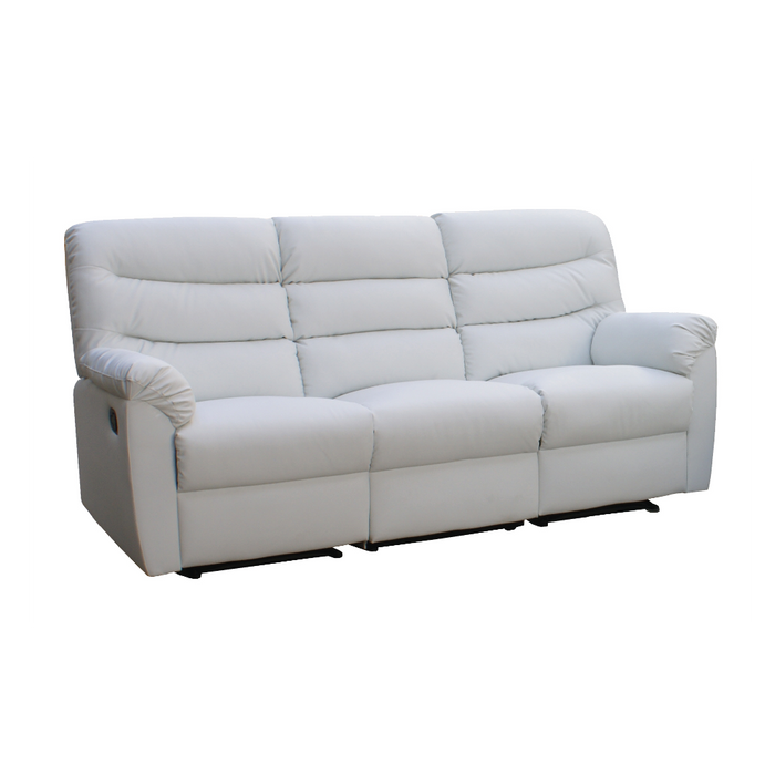 Norwood 3 Seater Recliner Sofa, Simulated Leather - Novena Furniture Singapore