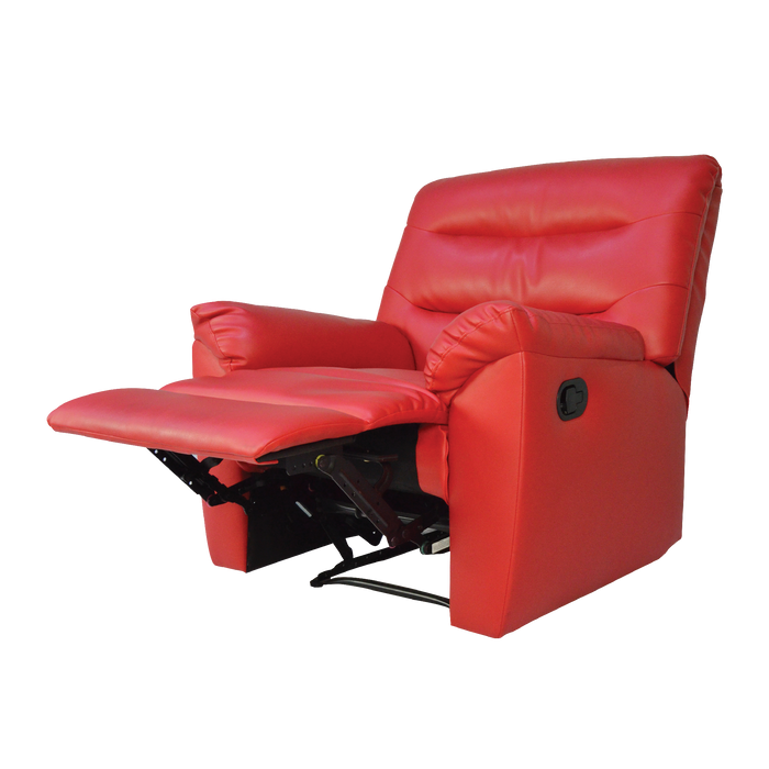Norwood Recliner Armchair, Simulated Leather - Novena Furniture Singapore