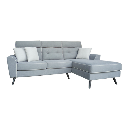 Pasco L-Shaped Sofa, Fabric