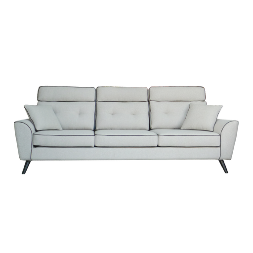 Pasco Deluxe 3 Seater Sofa, Fabric - Novena Furniture Singapore