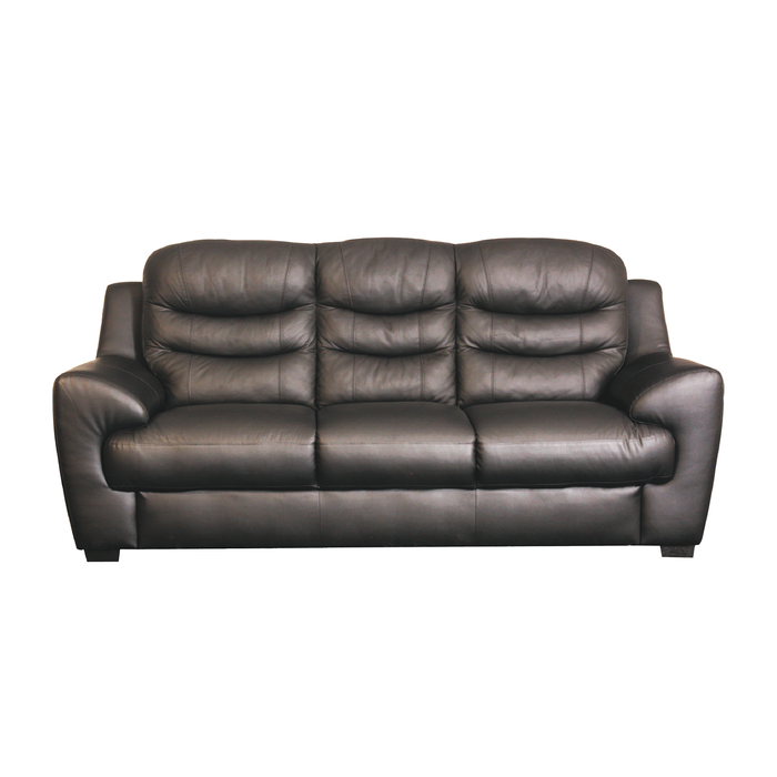 Pottery 3 Seater Sofa, Half Leather