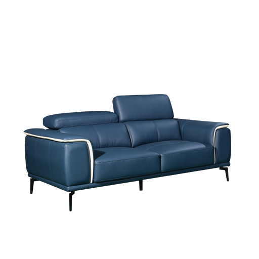 Prezia 2 Seater Sofa, Half Leather - Novena Furniture Singapore