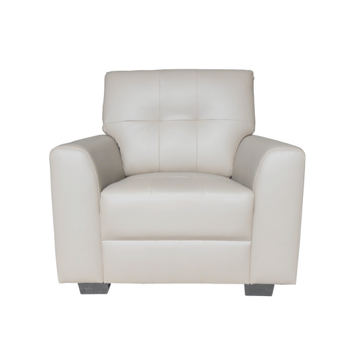 Run 1 Seater Armchair, Synthetic Leather - Novena Furniture Singapore