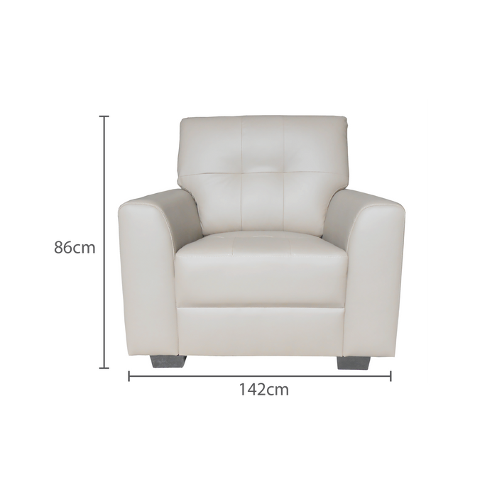 Run 1 Seater Armchair, Synthetic Leather