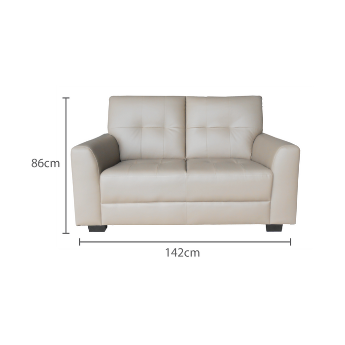 Run 2 Seater Sofa, Synthetic Leather - Novena Furniture Singapore