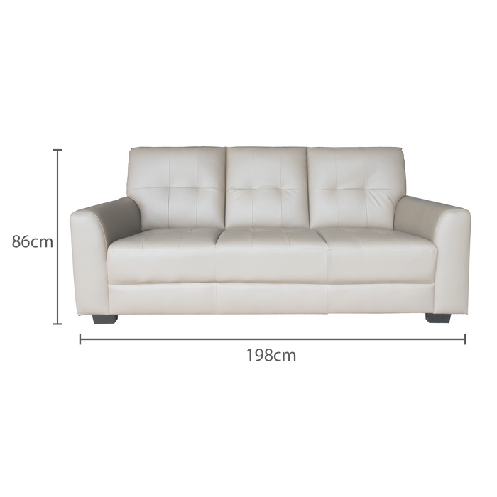 Run 3 Seater Sofa, Synthetic Leather