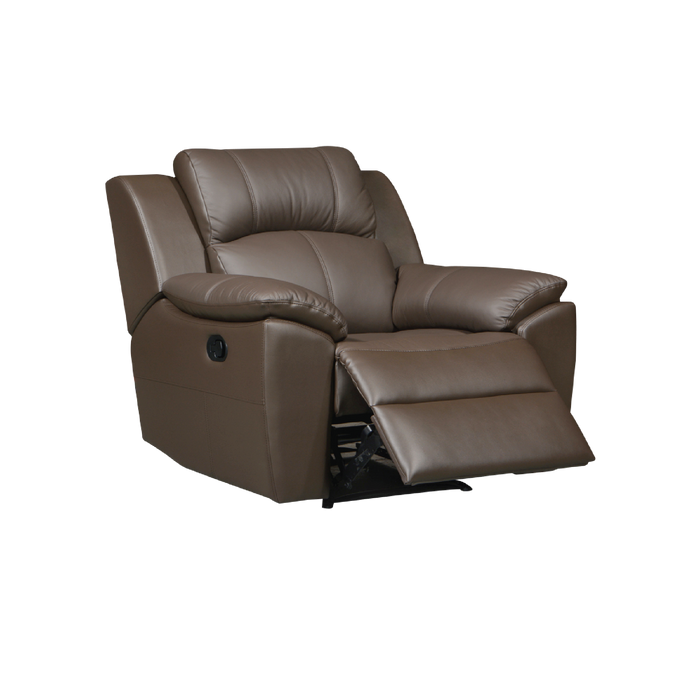 Sanro Recliner Armchair, Half Leather