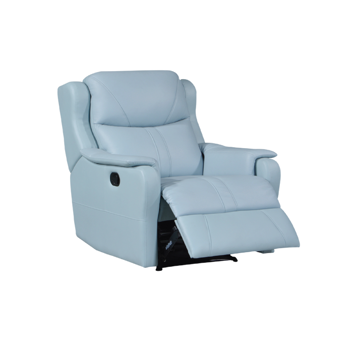 Skylar Recliner Armchair, Half Leather - Novena Furniture Singapore - Recliners