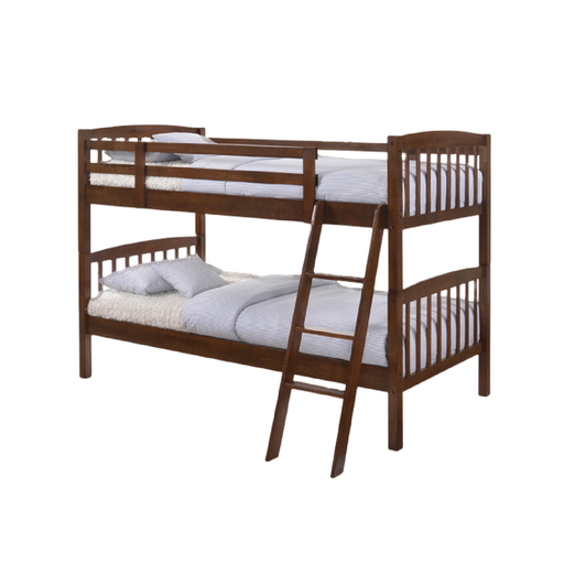 Sally 3ft Bunk Bed, Rubber Wood - Novena Furniture Singapore