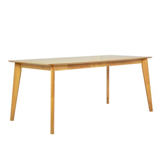 Seb 1.8M Dining Table, Rubber Wood - Novena Furniture Singapore