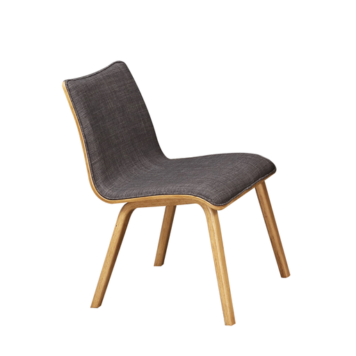 Seb Dining Chair, Rubber Wood - Novena Furniture Singapore