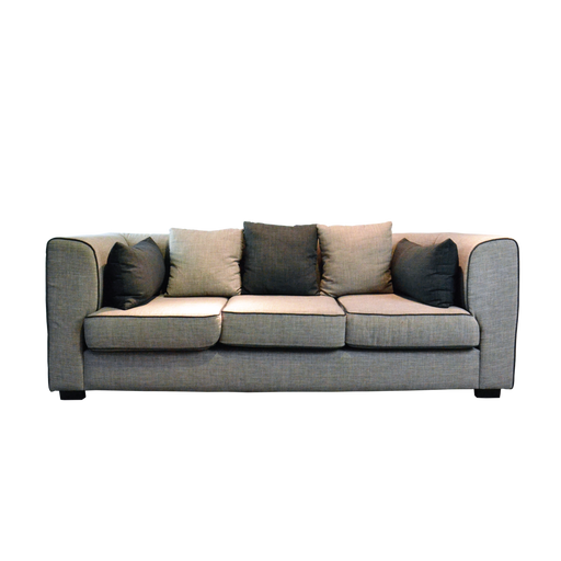 Siente 3 Seater Sofa, Fabric - Novena Furniture Singapore - Sofas