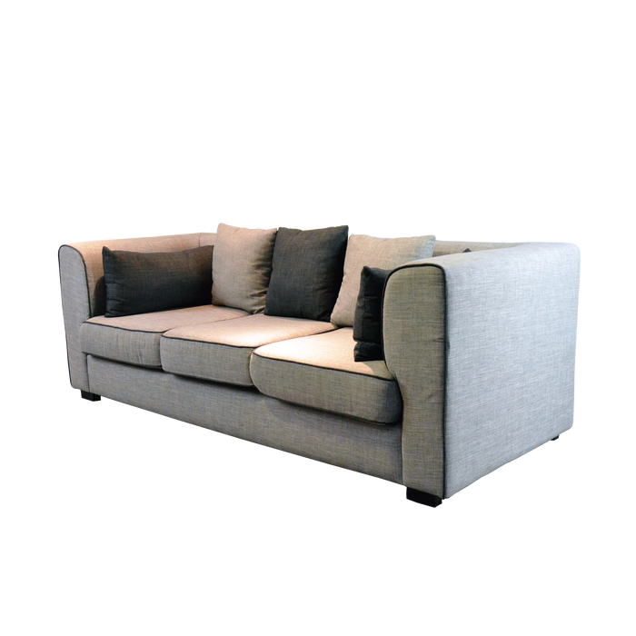 Siente 3 Seater Sofa, Fabric