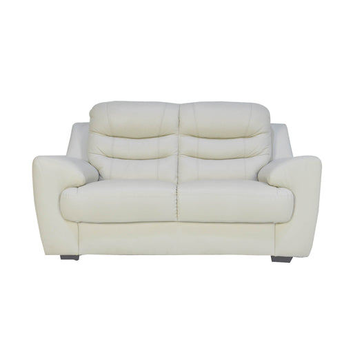 Pottery 2 Seater Sofa, Half Leather - Novena Furniture Singapore