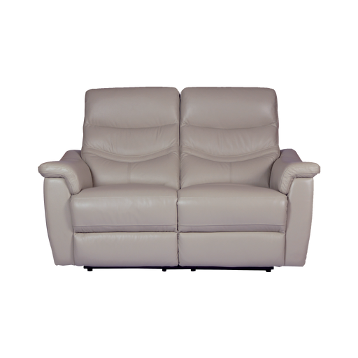 Star 2 Seater Recliner Sofa, Half Leather - Novena Furniture Singapore - Recliners
