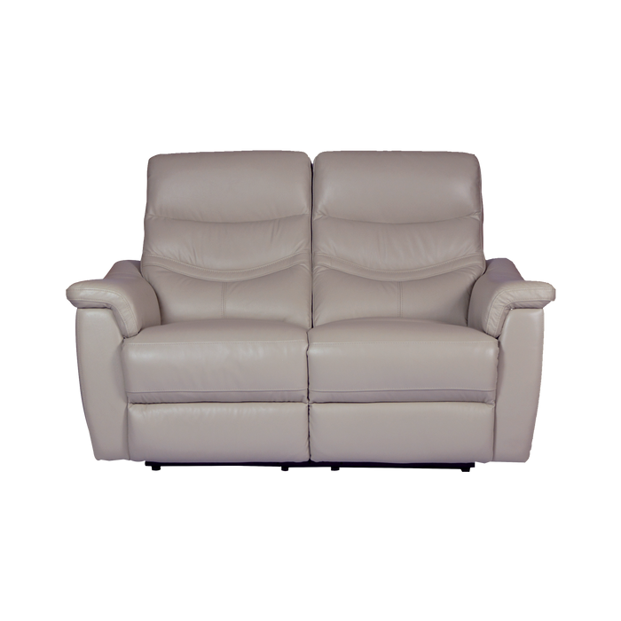 Star 2 Seater Recliner Sofa, Half Leather - Novena Furniture Singapore