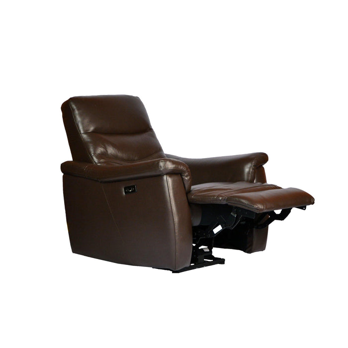 Star Electric Recliner Armchair , Half Leather