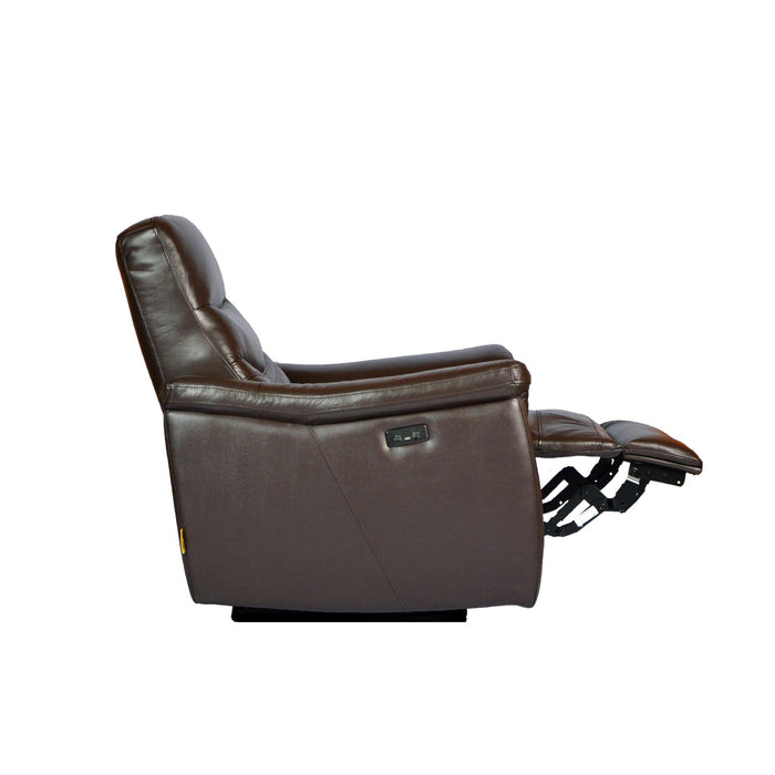 Star Electric Recliner Armchair, Half Leather - Novena Furniture Singapore