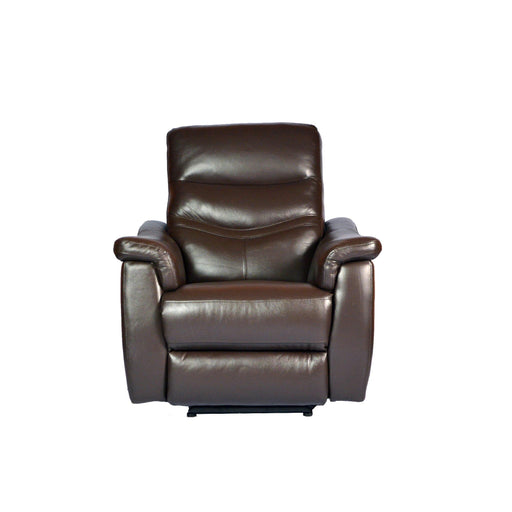 Star Electric Recliner Armchair , Half Leather - Novena Furniture Singapore