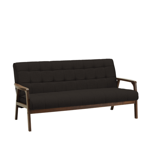 Tucson 3 Seater Sofa, Fabric - Cocoa/Mud - Novena Furniture Singapore - Sofas