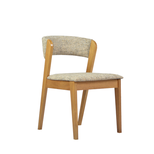 Vestige Dining Chair, Rubber Wood - Novena Furniture Singapore - Dining Chairs