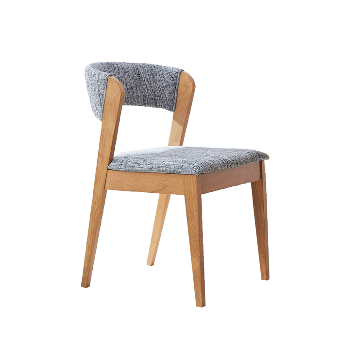 Vestige Dining Chair, Rubber Wood - Novena Furniture Singapore