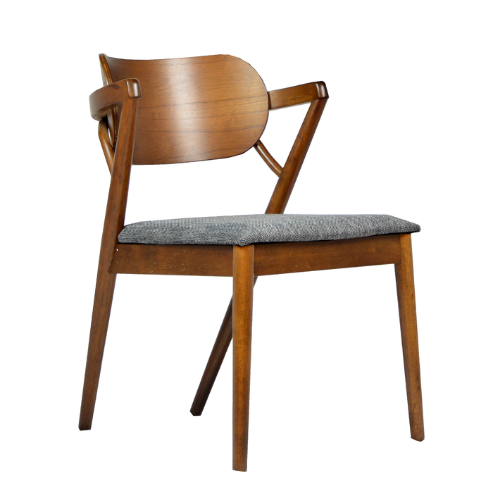 Vinca Dining Chair, Rubber Wood - Novena Furniture Singapore