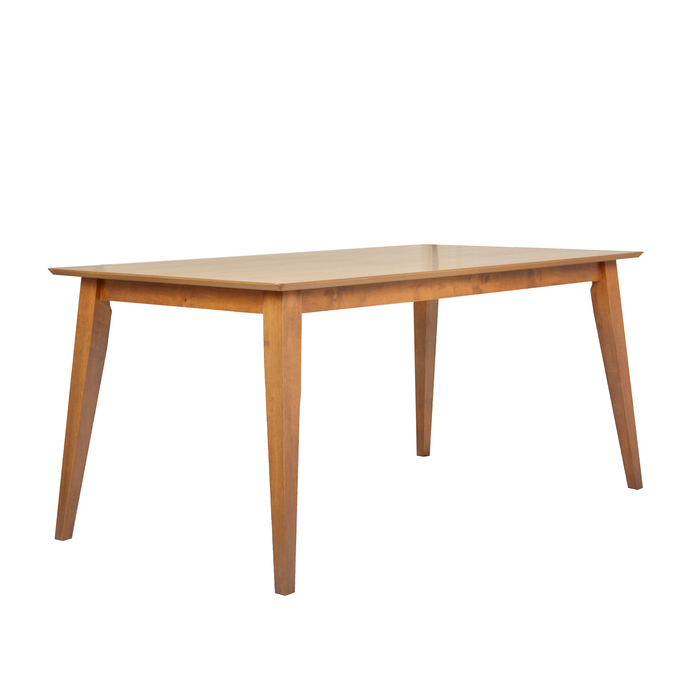 Vintage 1.8M Dining Table, Rubber Wood - Novena Furniture Singapore
