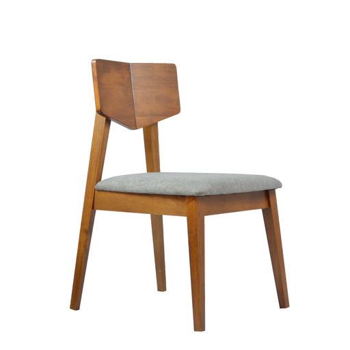 Vintage Dining Chair, Rubber Wood - Novena Furniture Singapore