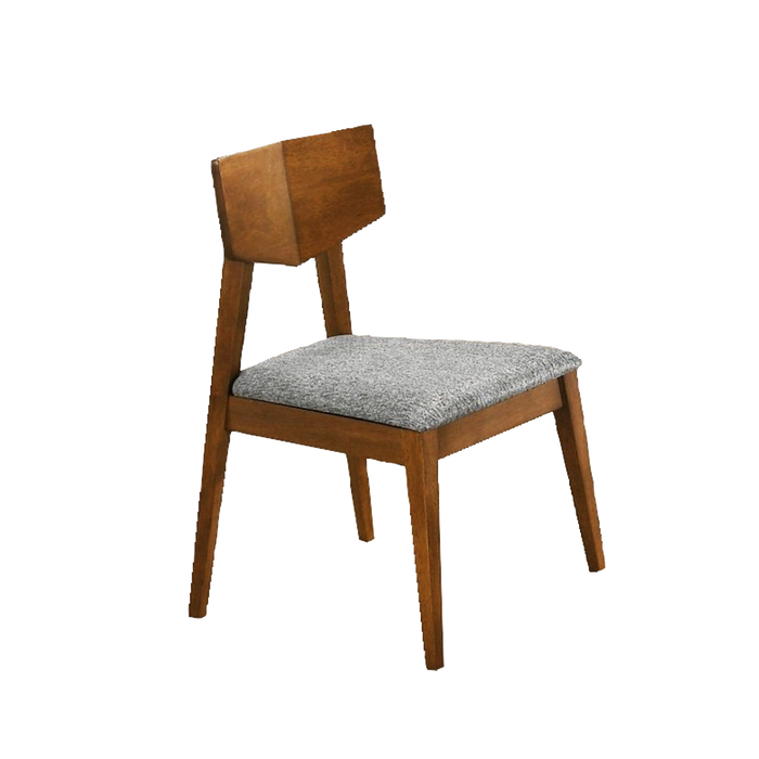 Vintage Dining Chair, Rubber Wood