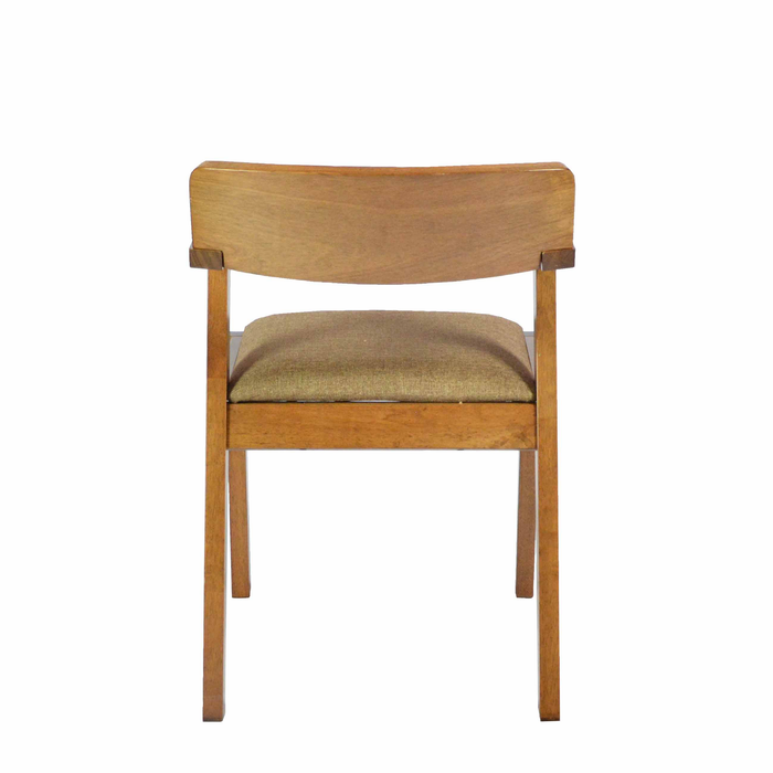 Virgo Dining Chair, Rubber Wood - Novena Furniture Singapore