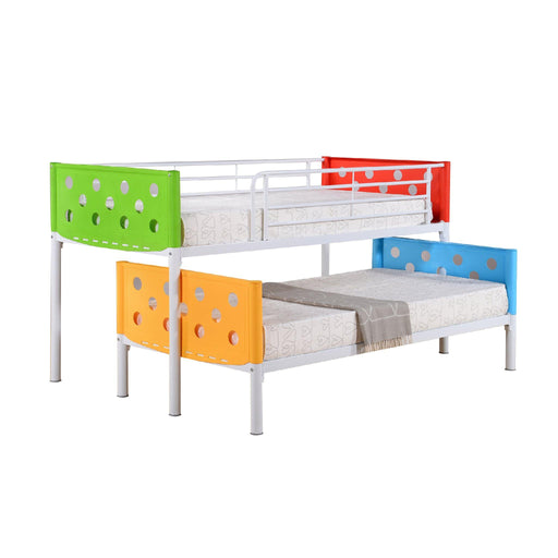 Zion Semi Bunkbed - Novena Furniture Singapore
