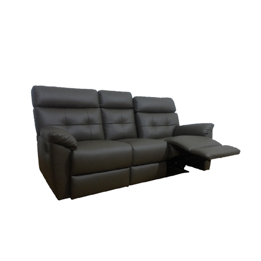 Emma 3 Seater Recliner Sofa, Simulated Leather - Novena Furniture Singapore - Recliners