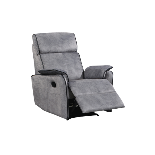 Silas Recliner Armchair, Fabric - Novena Furniture Singapore - Recliners