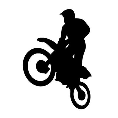 Freestyle Motocross Motorcycle Sticker