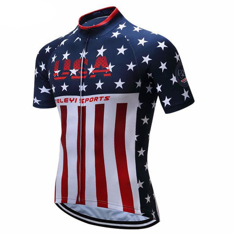 Racing Cycling Jersey Tops