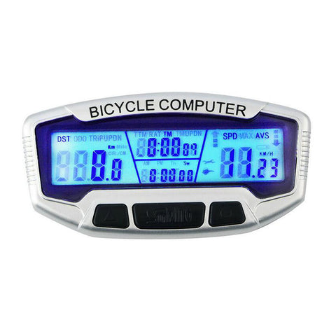 Digital LCD Display Bicycle Computer
