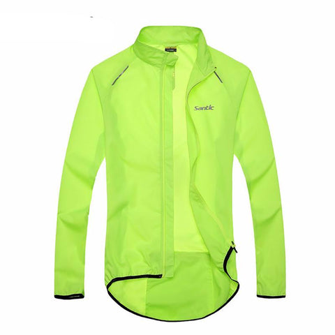 Cycling Raincoat Long Sleeve Jacket