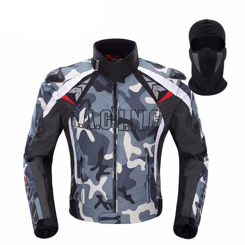 Off-Road Racing Jacket Camouflage
